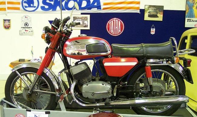 První sériově vyráběný motocykl Jawa 500 OHV