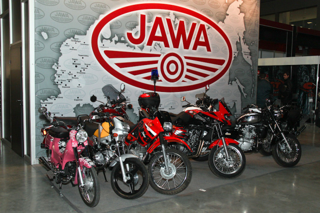 Modely JAWA v roce 2011