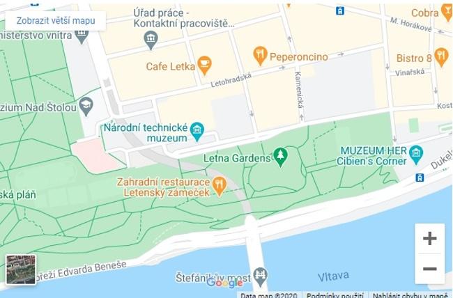 muzeum na mapě