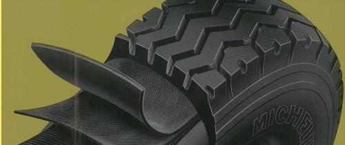 První radiální pneumatika Michelin